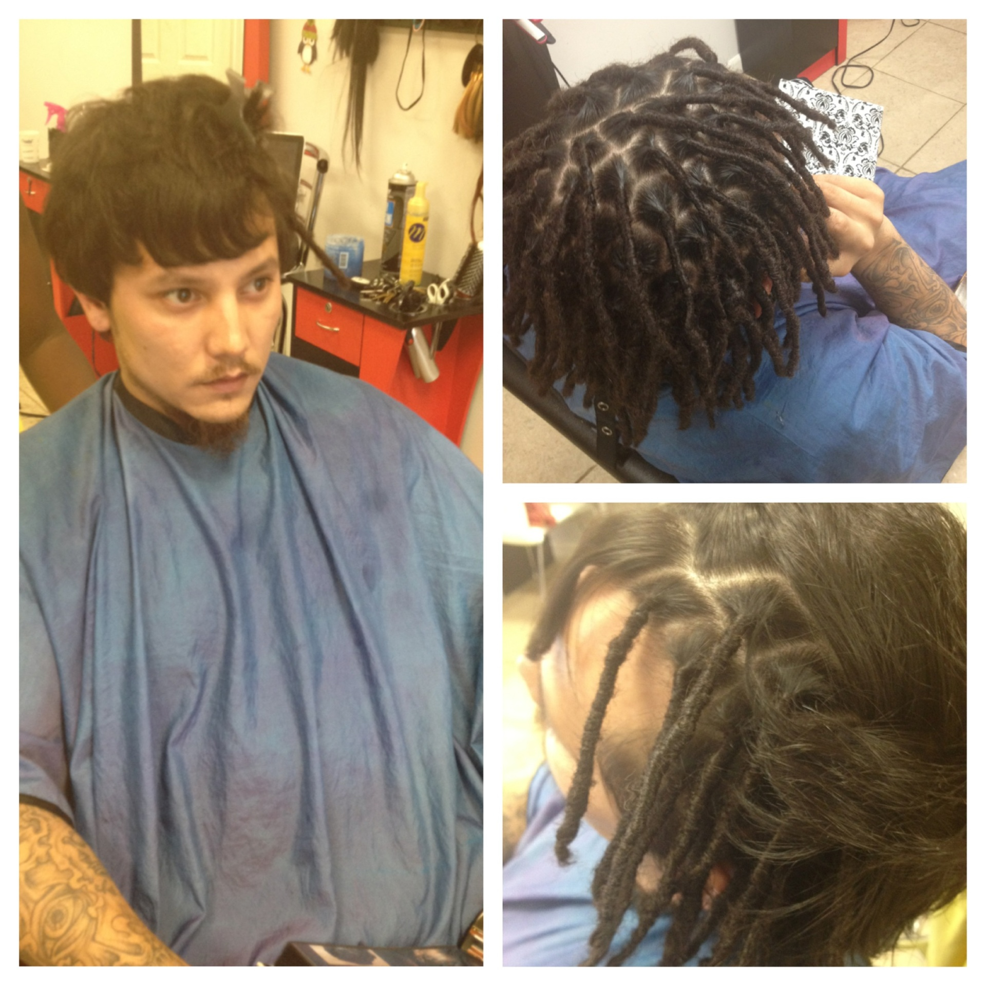 Starting dreads on short hair pmusecretfo Choice Image
