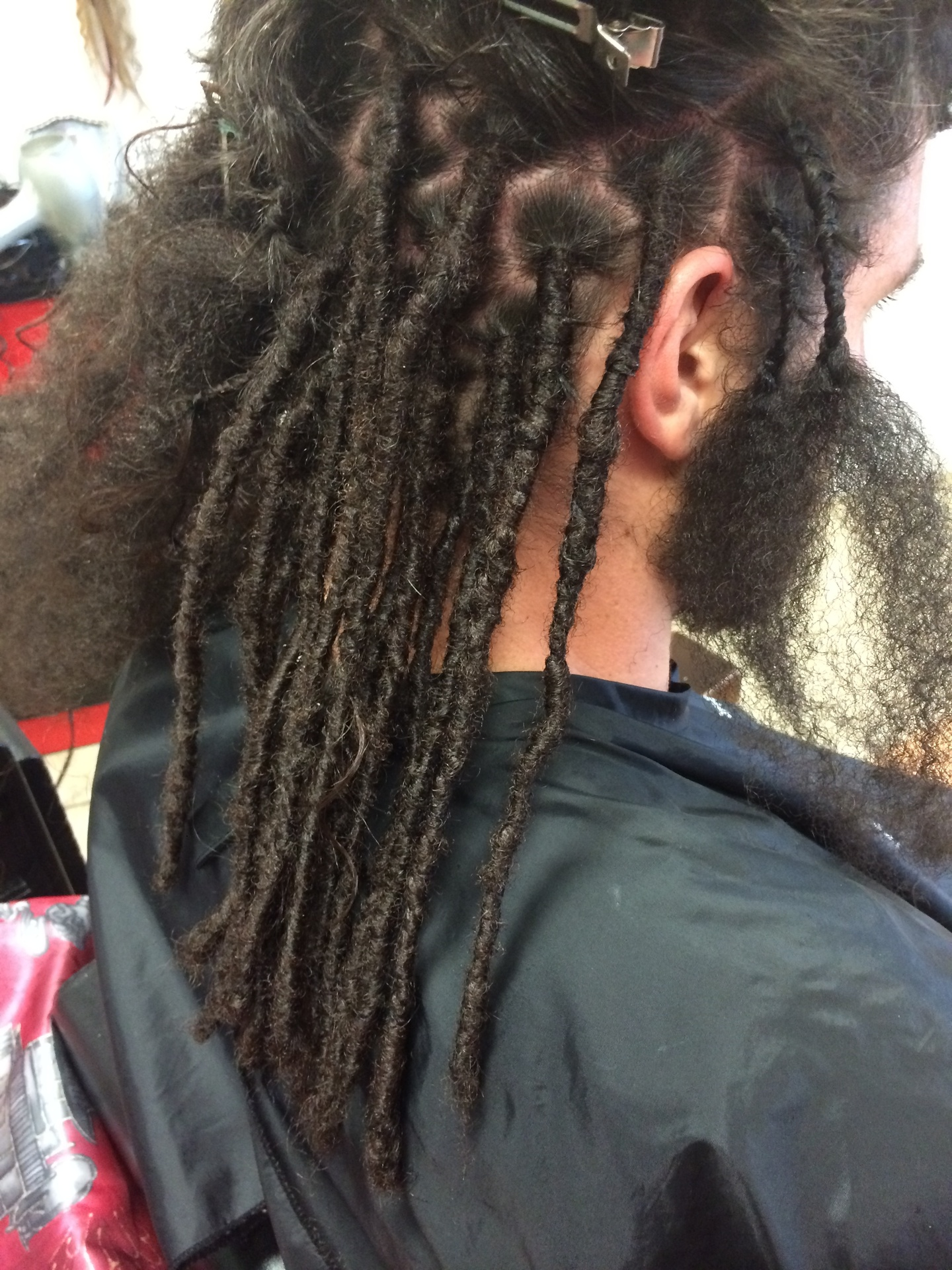 Instant Dreadlocks by Bee done within one day